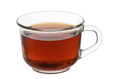 Cup of tea. A cup of tea on white Stock Images