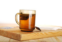 The cup of tea Stock Photography