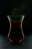 Cup of tea black background Royalty Free Stock Photo