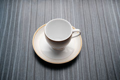 Cup of tea on black background. Cose up of cup of tea on black background Royalty Free Stock Photos
