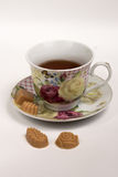 Cup of tea with candies Royalty Free Stock Photography