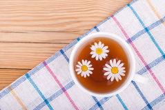 Cup of tea with chamomile. Stock Photography