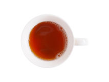 Cup of tea with clipping path Royalty Free Stock Photo