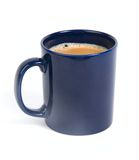 Cup of tea/coffee. Isolated mag of tea on white stock image