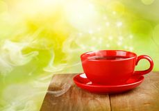 Cup of tea or coffee Royalty Free Stock Photos