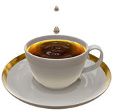 Cup of tea or coffee Royalty Free Stock Images
