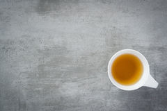 Cup of tea. On concrete stone background Stock Photo