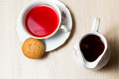 Cup of tea elegant style Royalty Free Stock Photography
