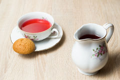 Cup of tea elegant style Royalty Free Stock Photos