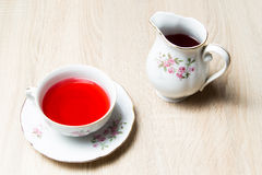 Cup of tea elegant style Stock Photography