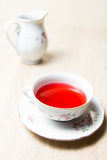 Cup of tea elegant style Royalty Free Stock Images