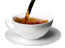 Cup of Tea Filled Stock Photography