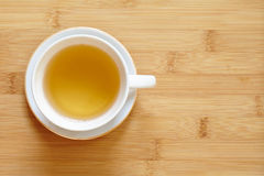 Cup of tea and green tea on table Royalty Free Stock Photo