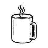 Cup of tea icon Stock Photography