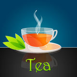 Cup of tea illustration Royalty Free Stock Images