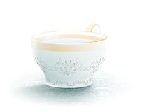 Cup of tea. Illustration Stock Photography