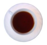 Cup of tea isolated on a white. Royalty Free Stock Image
