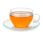 Cup of tea isolated stock images