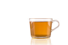 A cup of tea isolated on white background Stock Images