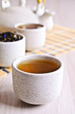 Cup with tea liquid Royalty Free Stock Photos