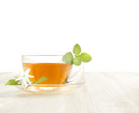 Cup tea with mint. Royalty Free Stock Photos