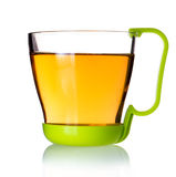 A cup of tea/oil. It's a cup of tea oil royalty free stock photography