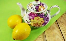 Cup of tea a pleasure. Stock Image
