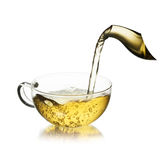 Cup of  tea with splash Royalty Free Stock Photography
