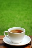 Cup of tea on table Stock Photography
