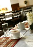 Cup of tea on a table Royalty Free Stock Photos