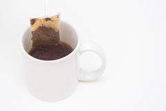 A cup of tea with tea bag Royalty Free Stock Photo
