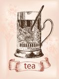 Cup of tea Stock Images