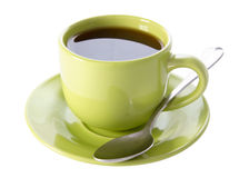 Cup of tea on a white background Stock Photo