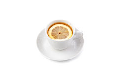 Cup of tea. On white background Royalty Free Stock Images