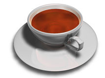 Cup of tea. On white background Stock Photo