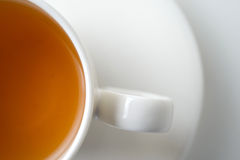 Cup of tea. On white background stock photography