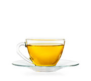 Cup of Tea. On white background include clipping path Royalty Free Stock Photography
