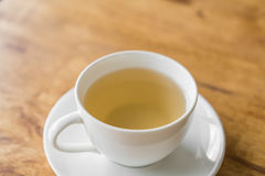 Cup of tea on a wooden Stock Photography