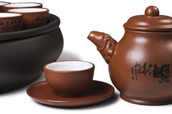 Cup and teapot Stock Photography