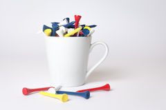 Cup of tee Royalty Free Stock Photography