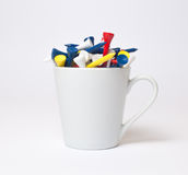 Cup of tee Stock Image