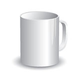 Cup Template Stock Photography