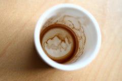 cup tomt Royaltyfri Foto