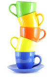 Cup tower Stock Photography