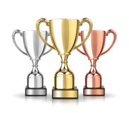 Cup trophies Royalty Free Stock Image