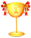A cup trophy Stock Image