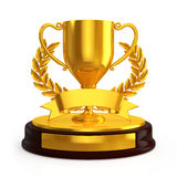 Cup trophy Stock Image