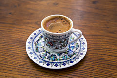 Cup of Turkish Coffe Stock Image