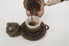 Cup of Turkish coffee Royalty Free Stock Photography