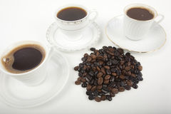 Cup of Turkish coffee Royalty Free Stock Images